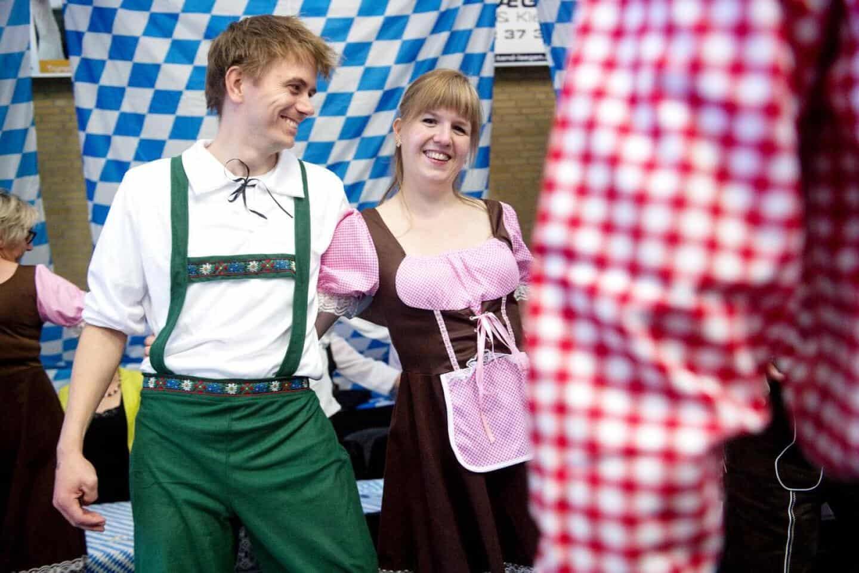 Oktoberfest tøj originalt Tyrolertøj