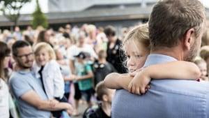 1024 børn begynder i skole: Den første skoletaske er noget