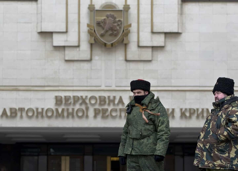 Krim Halvoen Erklaerer Selvstaendighed Fra Ukraine Fyens Dk