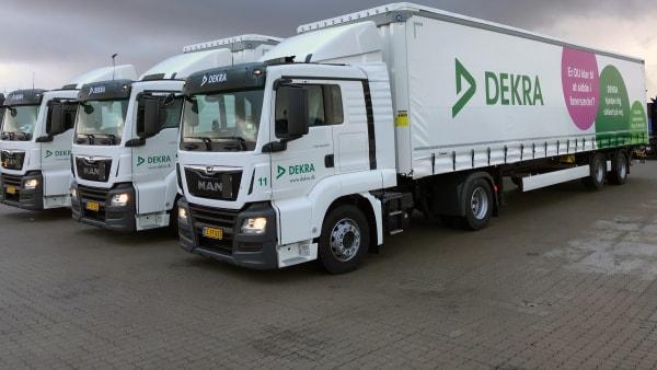 Lang kø til køreprøve: Syv lastbilelever risikerer at blive sat i klemme