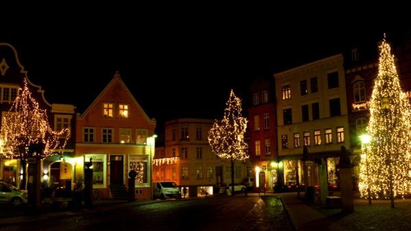 Haderslevs julelys er tændte indtil 1. februar...