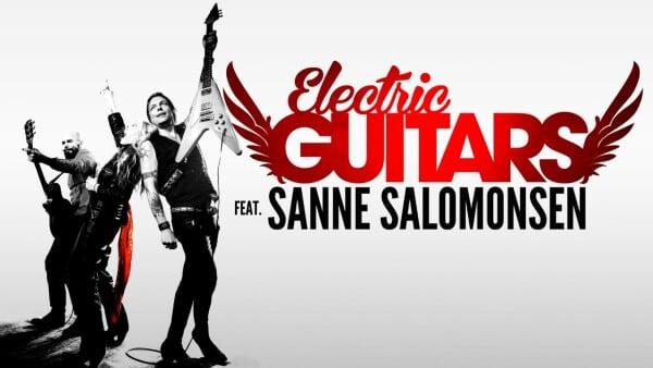 Electric Guitars featuring rockmama Sanne Salomonsen fyrer den...