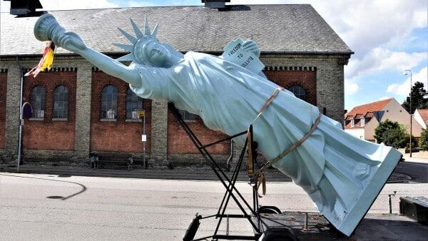 Fredericias største skulpturudstilling tager form