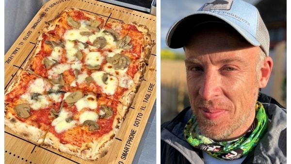Folk kører langt for at spise luksus-pizzaer på Omars nye intime spisested: - Alt er importeret fra Italien