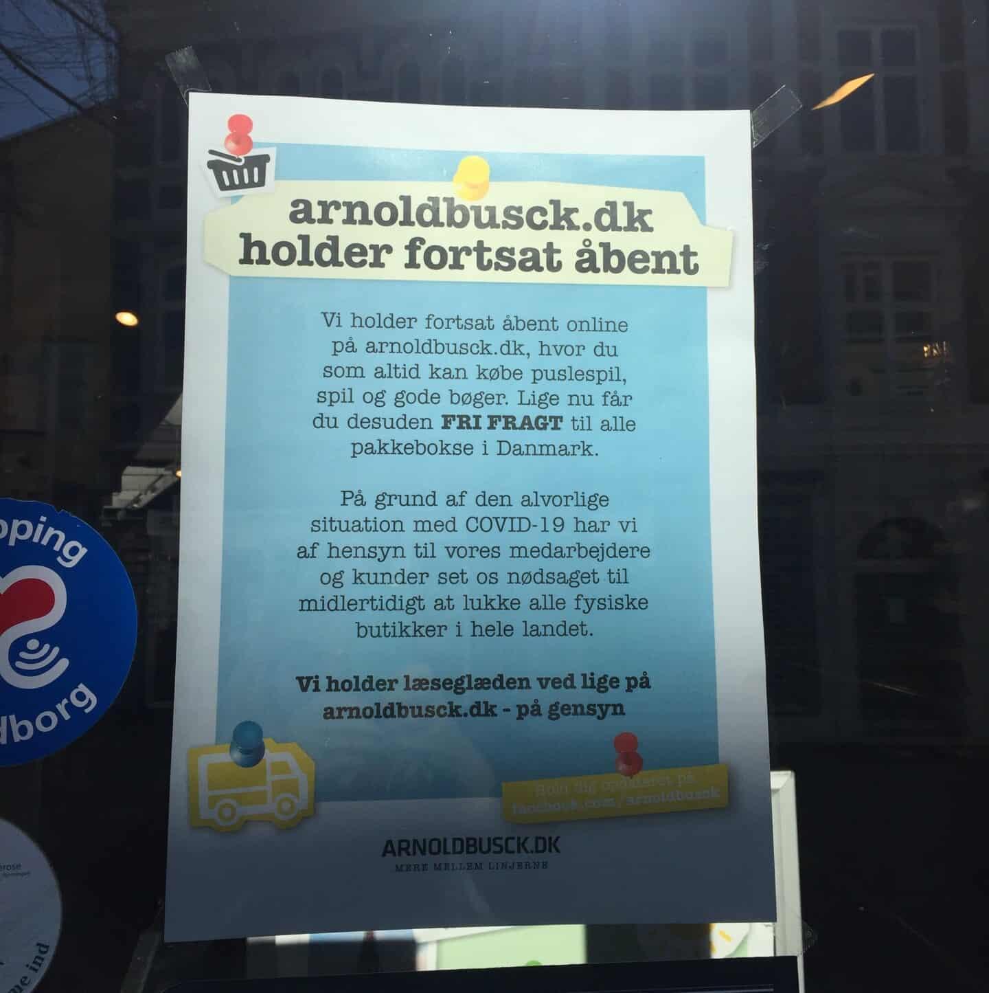 Corona: Boghandel lukker | faa.dk