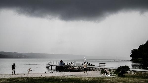 Risiko for farligt vejr: DMI varsler risiko for kraftig regn og lokale skybrud