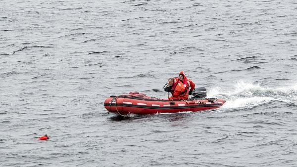Aktion på Flensborg Fjord: Tysk mand måtte reddes