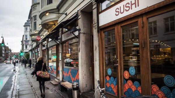 Madanmeldelse af Oishii Sushi fra amtsavisen.dk