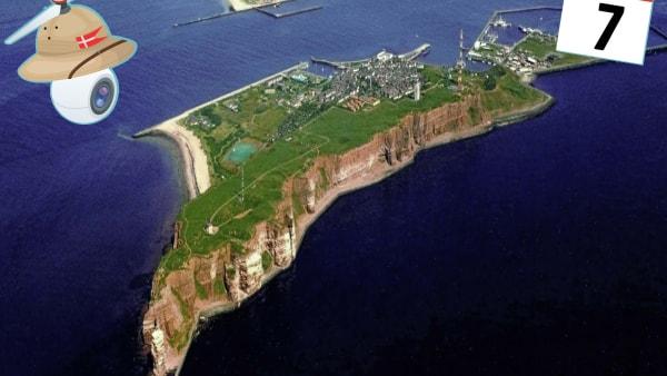 Sommerkonkurrence: Hvilken ø besøger kolodronen i dag?