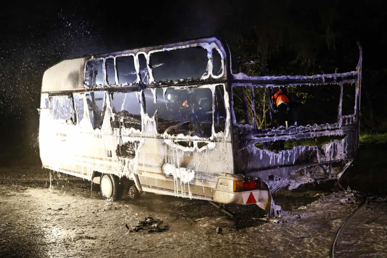 Picture of: Se Billeder Og Video Campingvogn Udbraendte Jv Dk