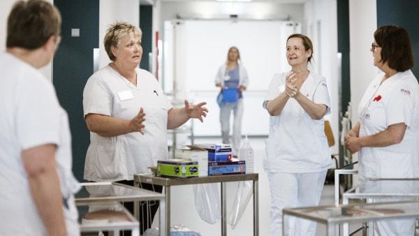 Dagbog fra corona-land: Hygiejnesygeplejersker på overarbejde