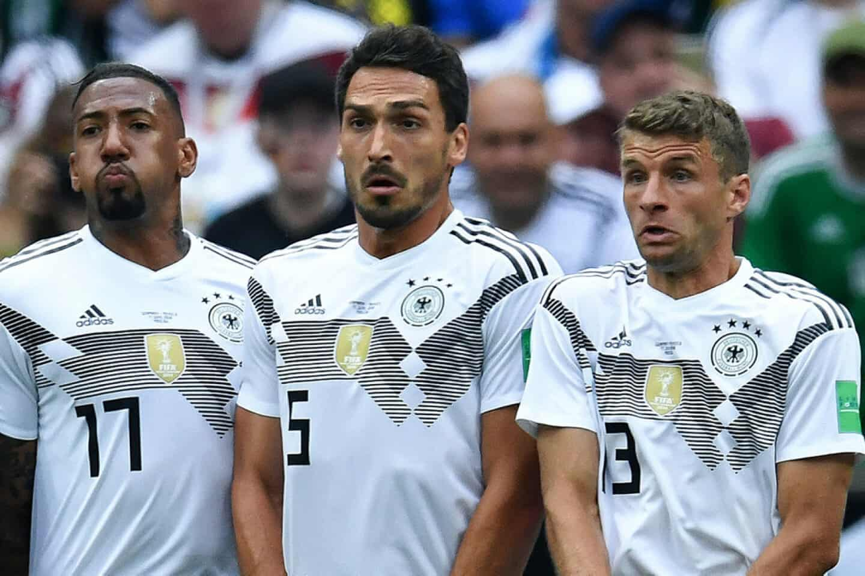2ce98d070c1 Jérôme Boateng, Mats Hummels og Thomas Müller er blevet droppet fra det  tyske landshold. (Arkivfoto)