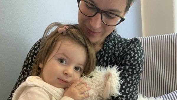 Anika samler kræfter før behandling i Ungarn...