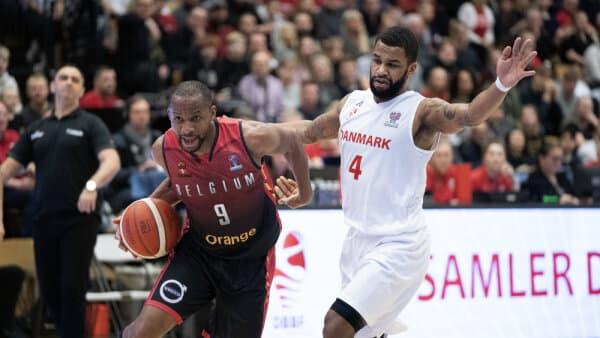 Belgien slår danske basketballherrer sikkert i nøglekamp