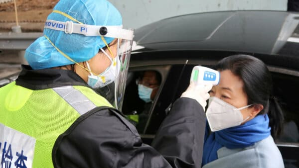 Virus har spredt sig fra Kina til...