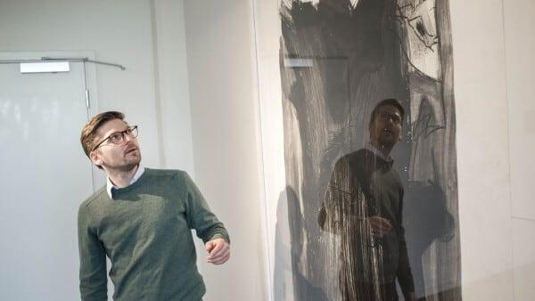 Kunst er normalt gemt væk: Specielle værker af Per Kirkeby vises i Fredericia