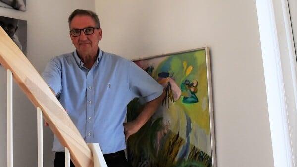 Erhvervsmægleren skaffer kendte kunstnere til Fredericia