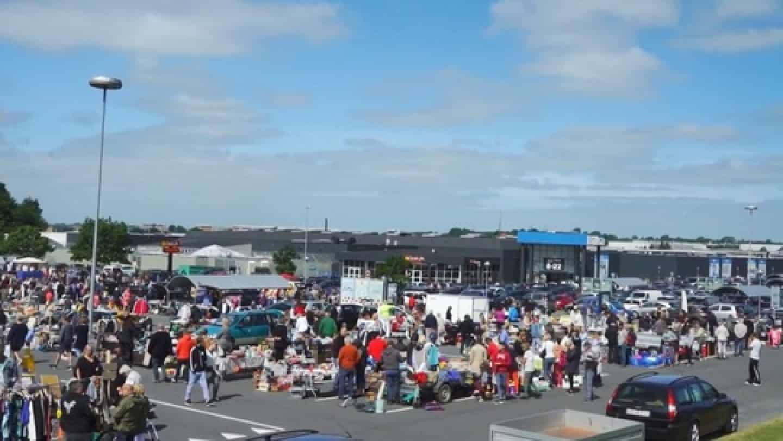 90e5aecdf98d Der holdes for fjerde gang bagagerumsmarked ved Bilka søndag 26. august.  Foto  Pressefoto
