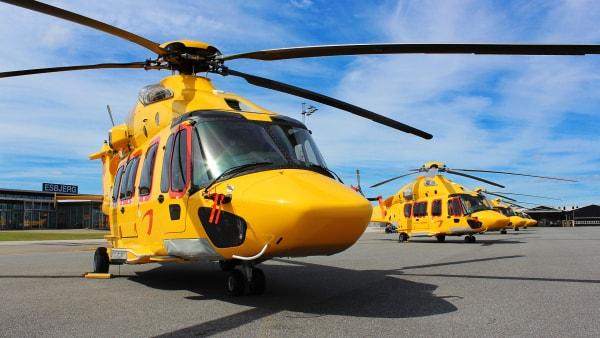 Helikopterfirma i masseafskedigelse efter mistet kontrakt