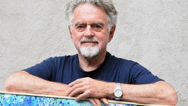 Erik Clausen er med ved åbning af kunstudstilling