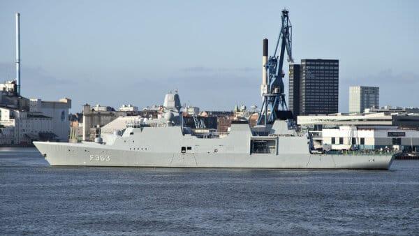 FAKTA: Slagkraftig dansk fregat på vej til Iran