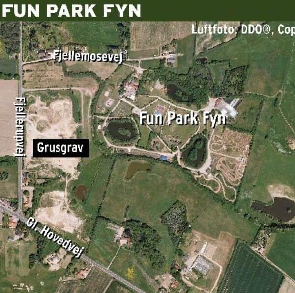 Camping Pa Vej Ved Fun Park Fyn Fyens Dk