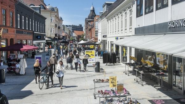 Esbjerg Kommune sætter turbo på kontroversielle gågade-planer
