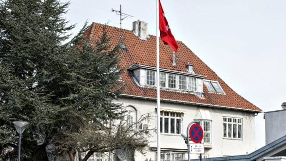 tyrkiske ambassade adresse
