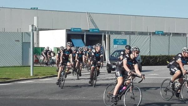 Syv elever fra FGU Kolding  Vejen cyklede...