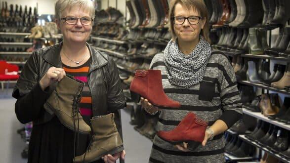 3c92624eee2 Mor og datter driver skomagerens forretning videre | dbrs.dk
