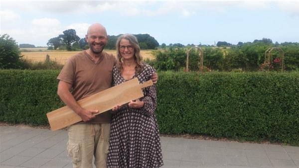 Charlotte og Claus sætter alt på et bræt: Har åbnet webshop med miljøvenlige produkter