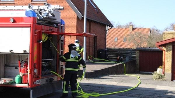 Ingen ild: Brandvæsenet rykkede ud til samme hus to gange